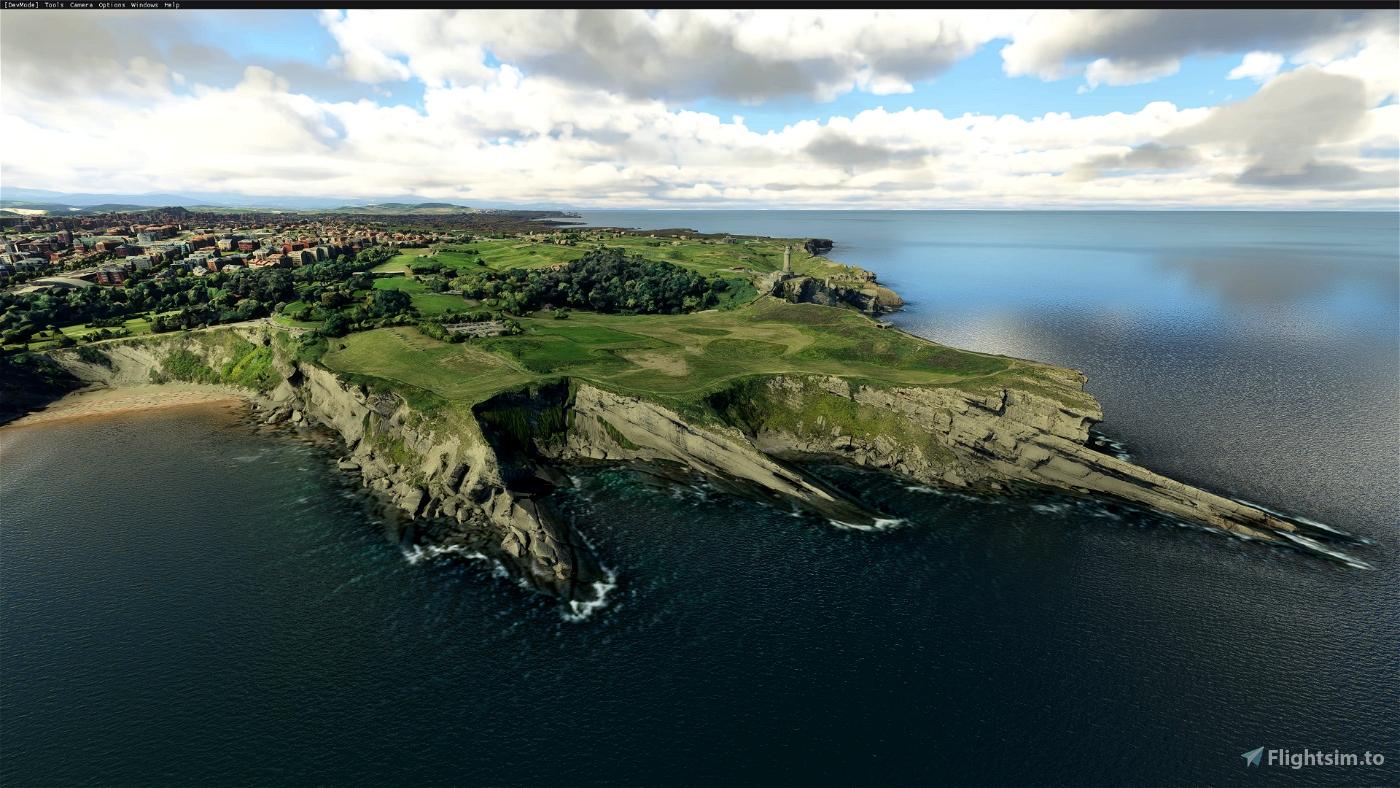 Santander, Cantabria, Spain Flight Simulator 2020