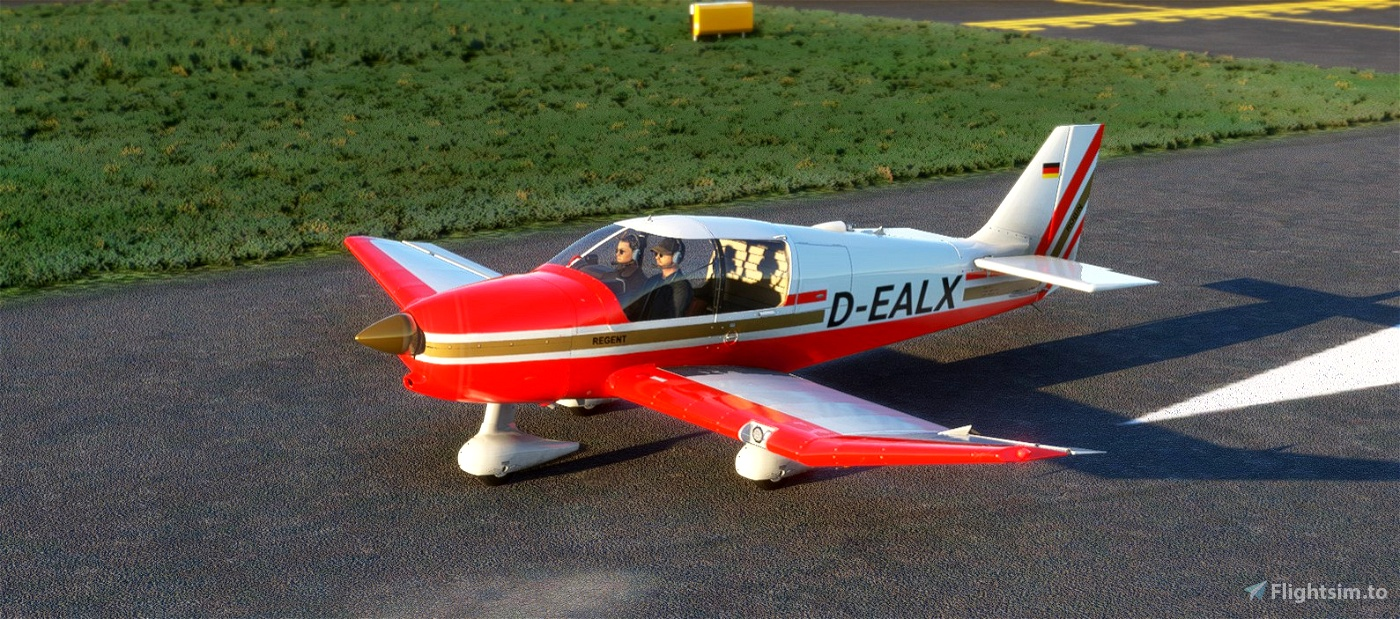 Robin DR400-180 Régent Mod (Standalone aircraft) Flight Simulator 2020