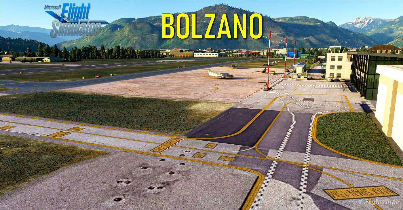 Bolzano Airport [LIPB] Flight Simulator 2020