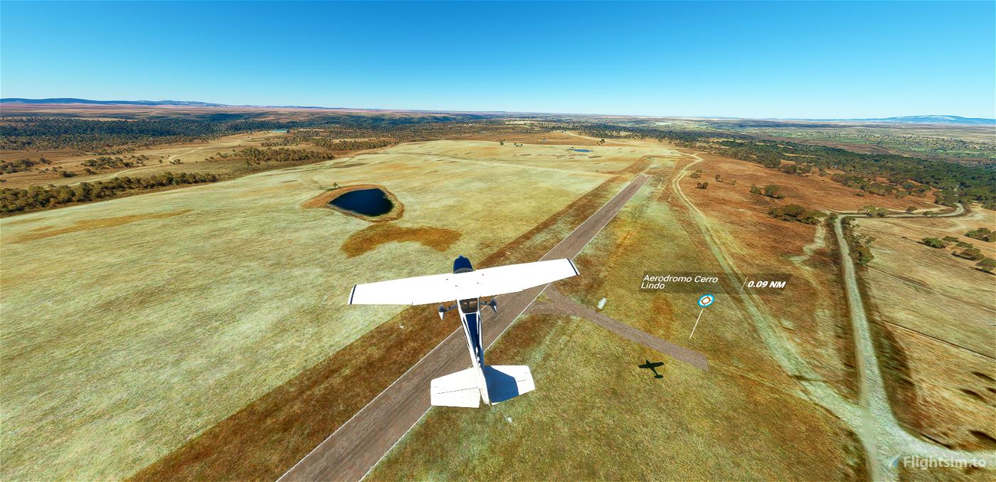 Aeródromo Cerro Lindo LEGP Flight Simulator 2020