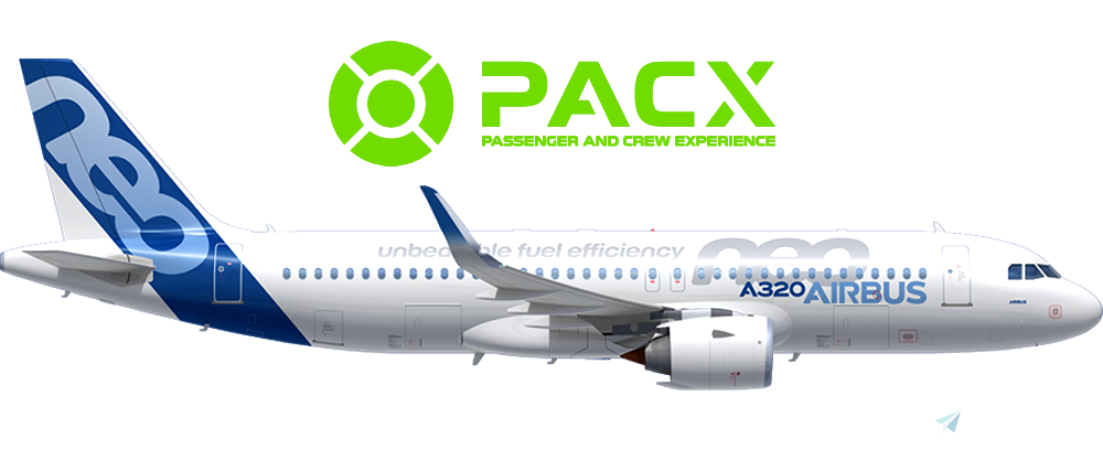 PACX - A320neo - 150 Pax / 3-Class Cabin Layout Flight Simulator 2020