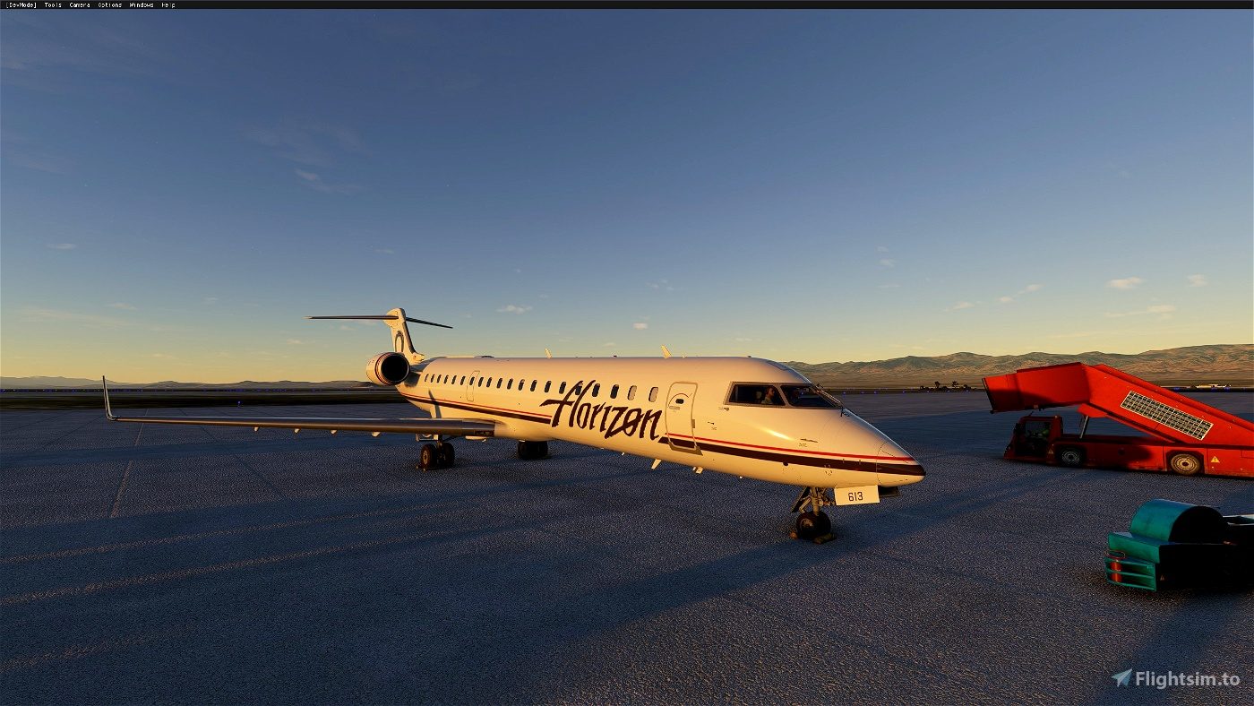Aerosoft CRJ-550/700 Custom Camera Set Flight Simulator 2020