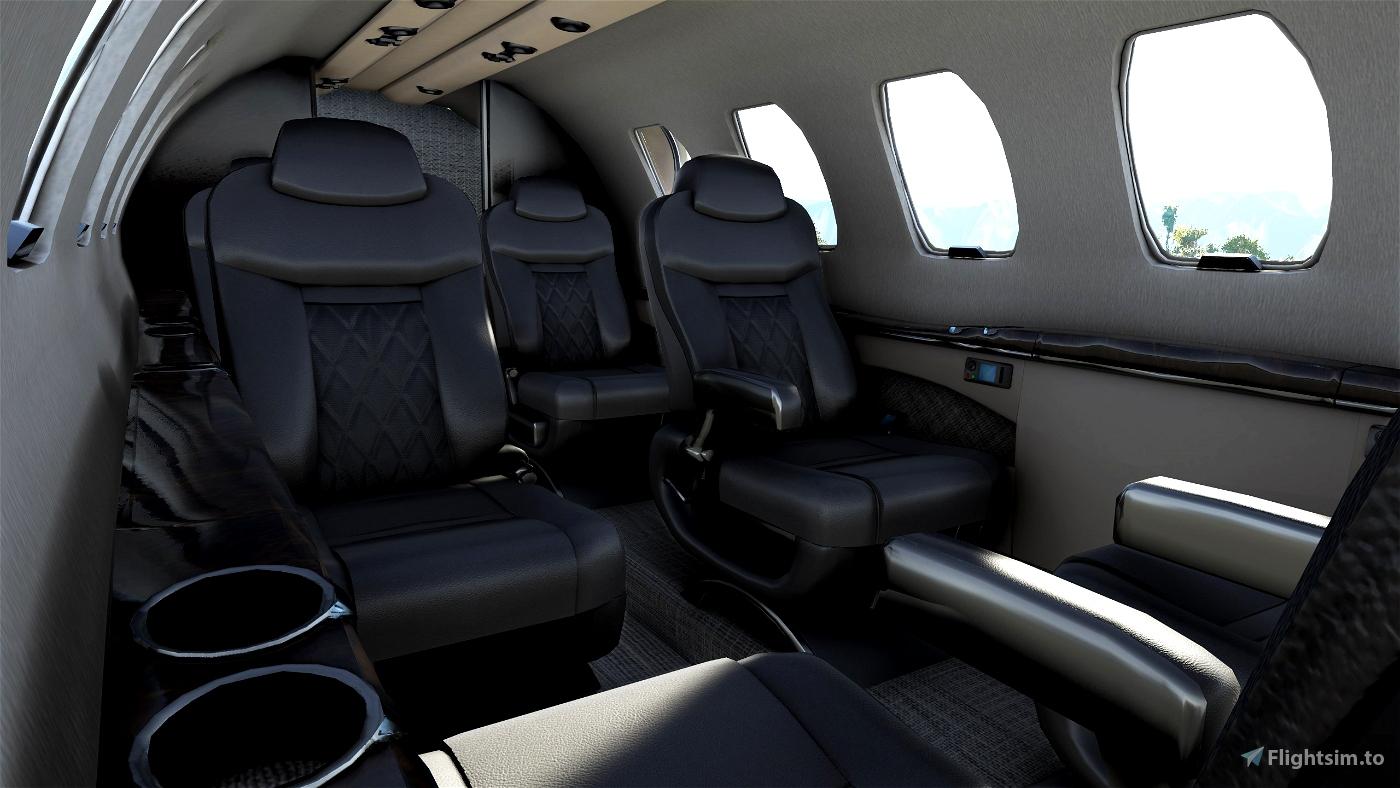 CJ4 Cockpit Texture Mod