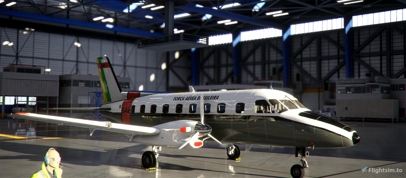 EMB-110P1 Força Aérea Brasileira - FAB/SAR 8K