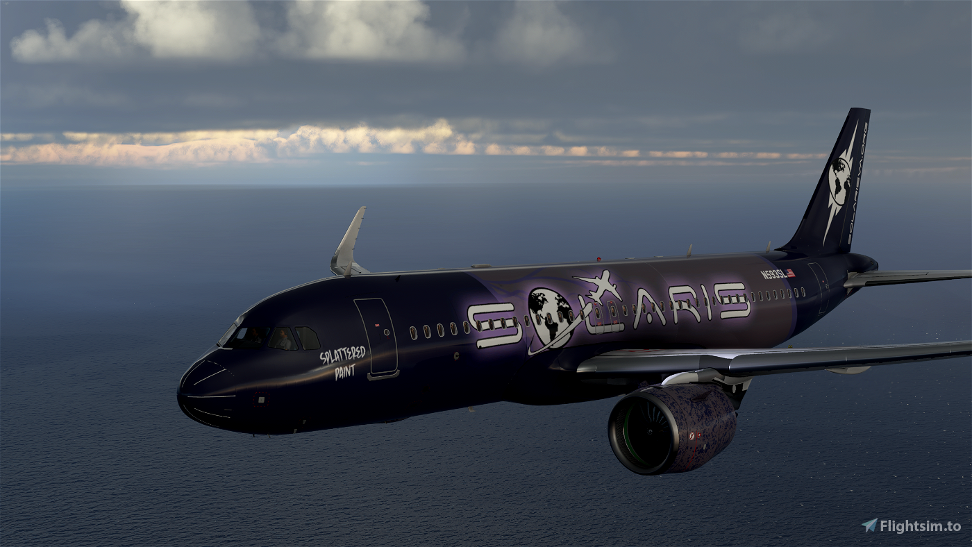 [A32NX] Solaris Airlines A320 Neo Livery