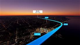 Chicago O'Hare Sunset Landing Challenge (KORD) A320/A32NX Image Flight Simulator 2020