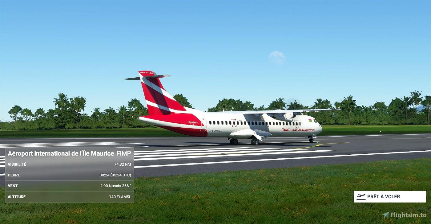 Air Mauritius ATR 72-600 8K