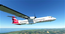 Air Mauritius ATR 72-600 8K Image Flight Simulator 2020