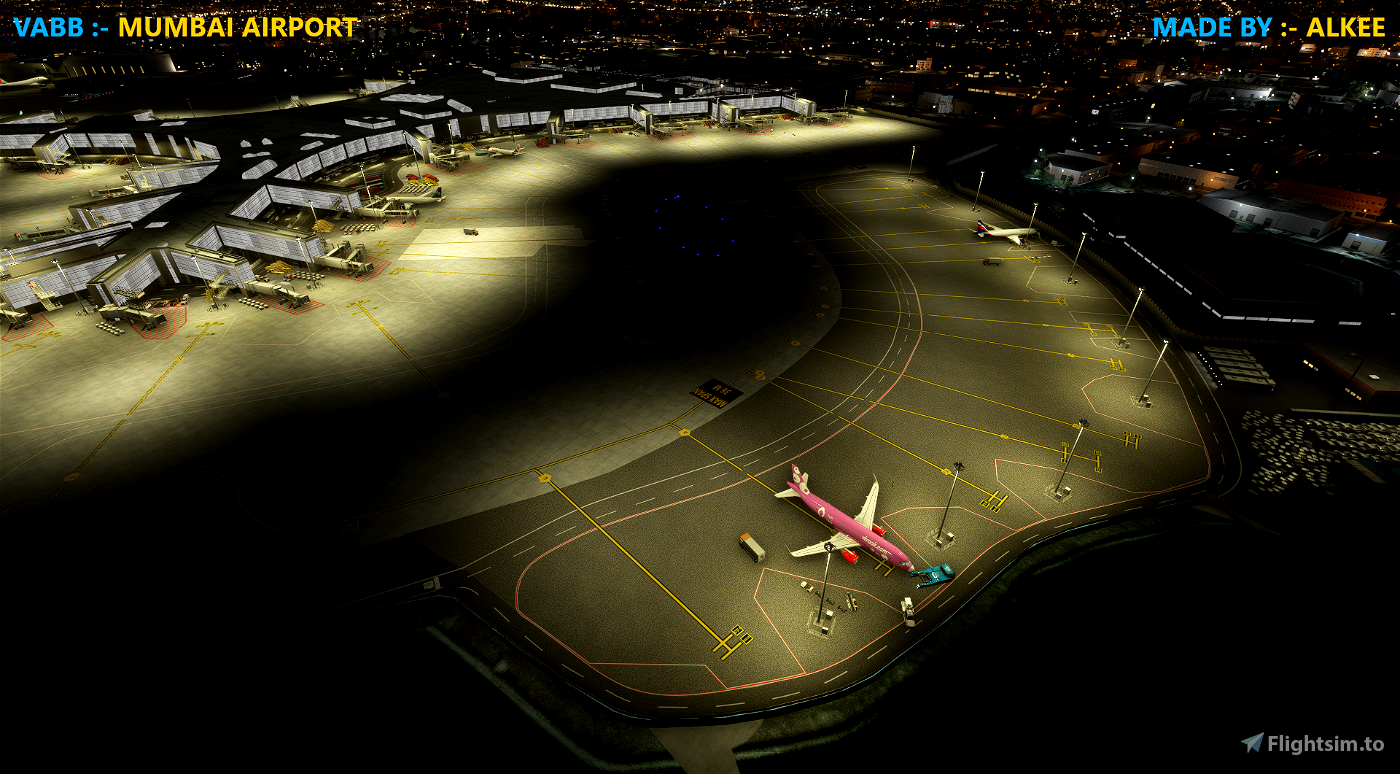 VABB Chhatrapati Shivaji International Airport (BOM) Flight Simulator 2020