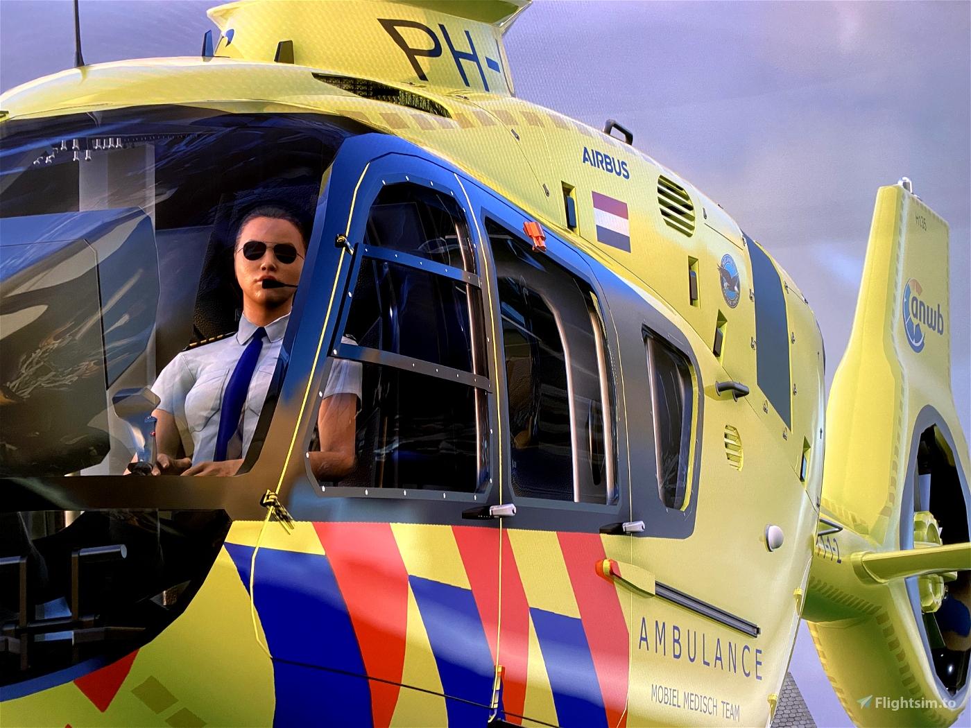V7 version Airbus H135 Add-Copilot again ''LIFELINER 3 EDITION'' Flight Simulator 2020