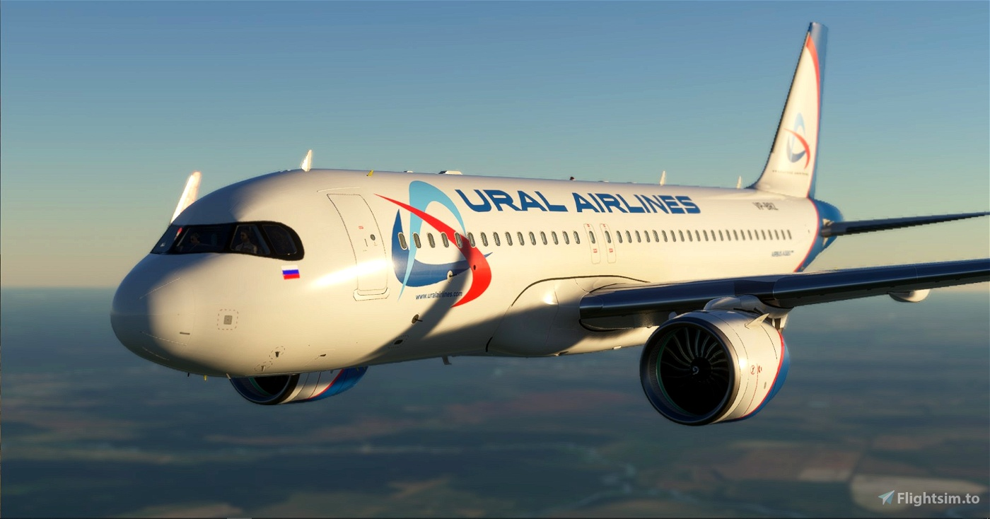 [A32NX] FBW A320 Ural Airlines Flight Simulator 2020