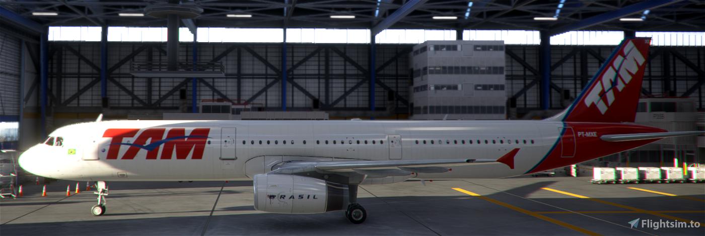 TAM PT-MXE PMP A321 Flight Simulator 2020