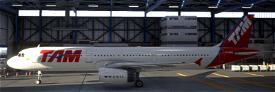 TAM PT-MXE PMP A321 Image Flight Simulator 2020