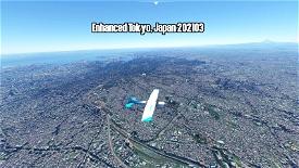 Enhanced Tokyo, Japan 202103 Image Flight Simulator 2020
