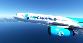 FrenchBee / Air Caraibes A330-300 (PMP) 8K Image Flight Simulator 2020