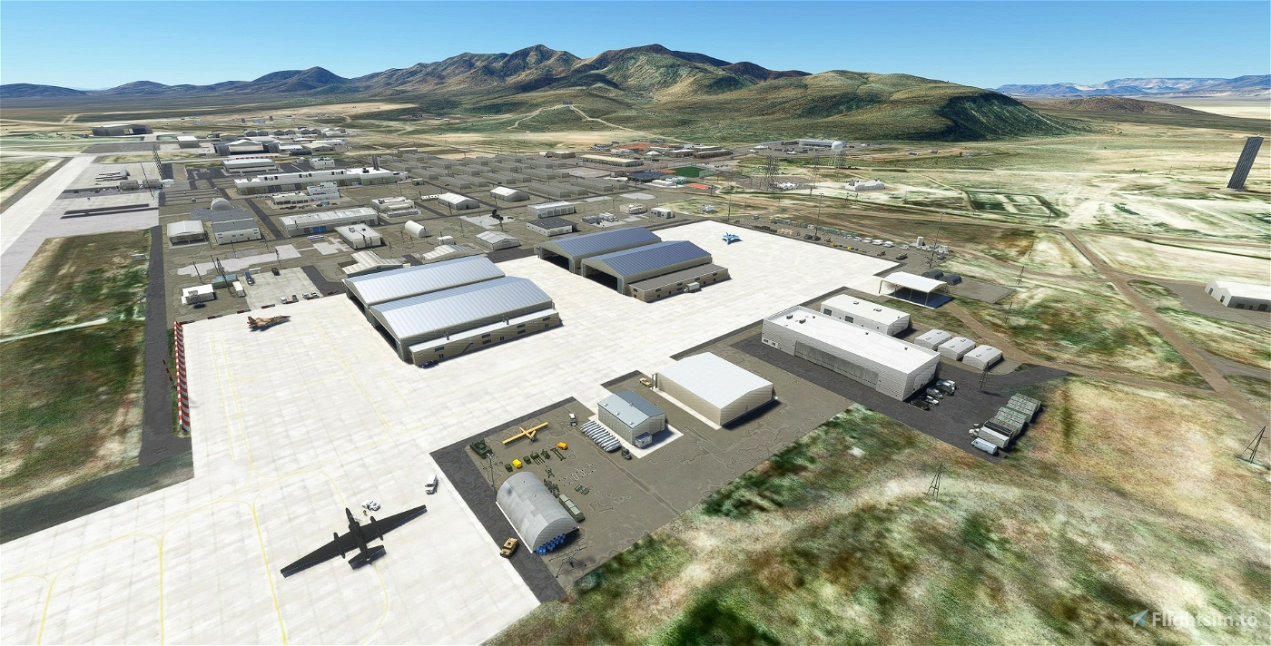 KXTA - Area 51 - Homey Airport - Groom Lake - Upgrade Flight Simulator 2020