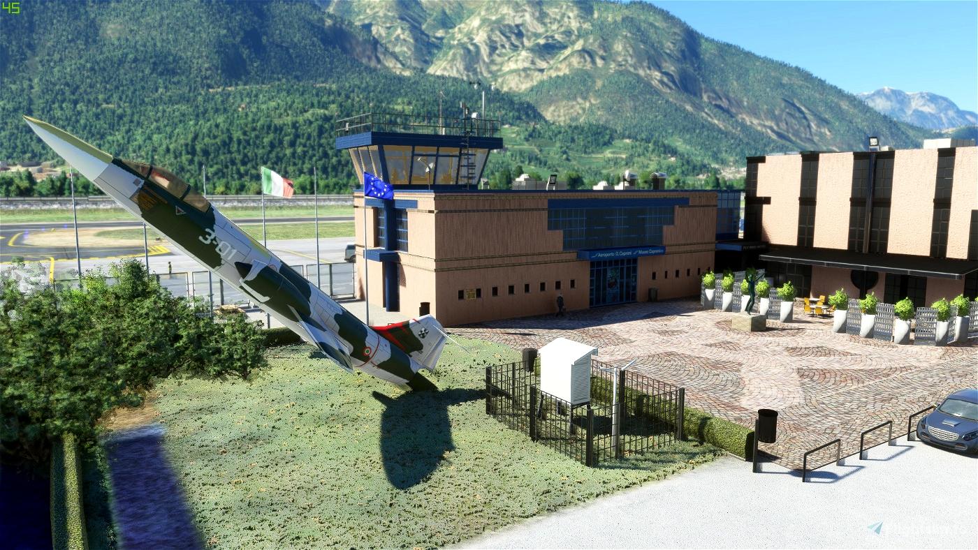 LIDT Trento Mattarello - Aeroporto G. Caproni Flight Simulator 2020