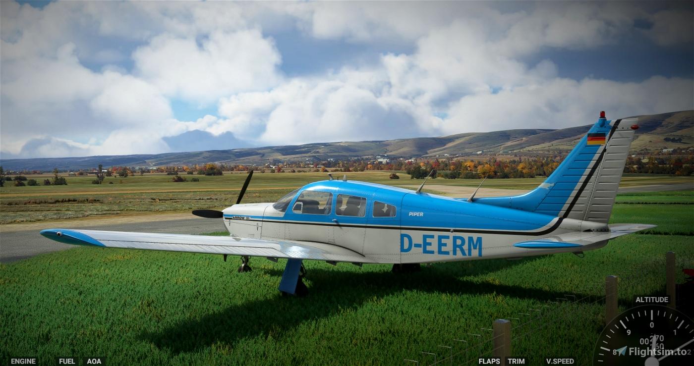 JustFlight PA28R Arrow III - D-EERM