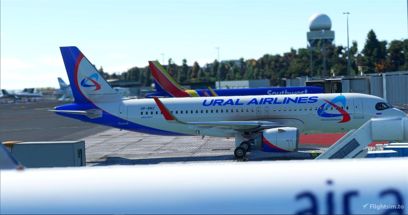 [A32NX] FBW A320 Ural Airlines