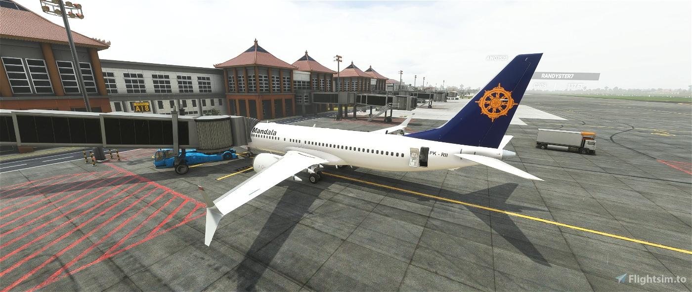 Mandala Airlines Boeing 737