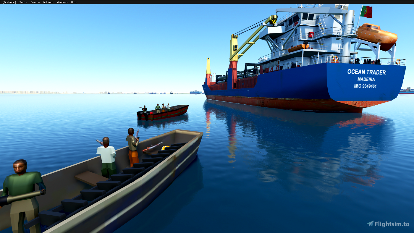 Partially refloated Ever Given Ship MOD