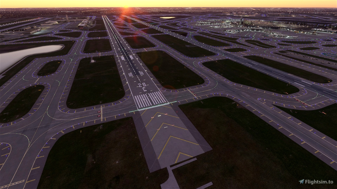 Chicago O'Hare Sunset Landing Challenge (KORD) A320/A32NX