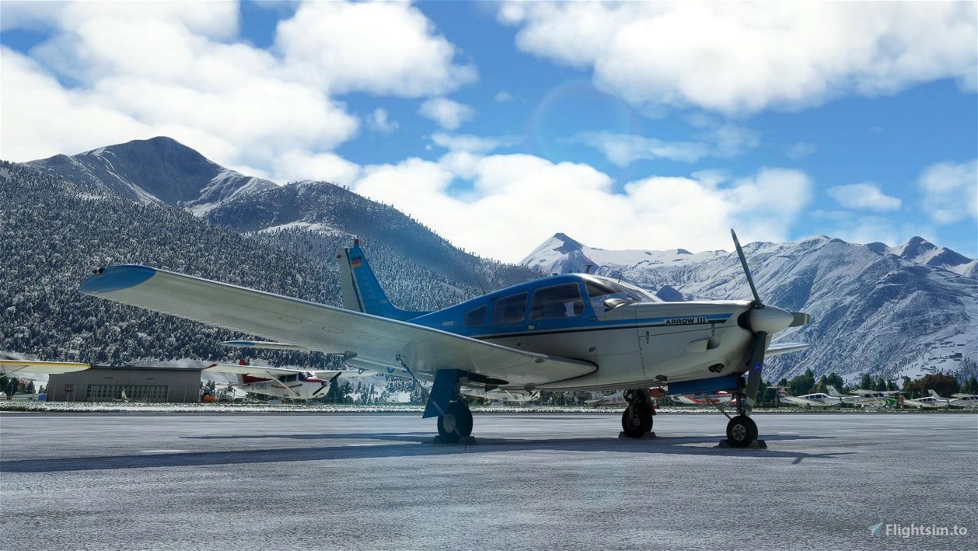 JustFlight PA28R Arrow III - D-EERM Flight Simulator 2020