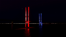 Oresund Bridge / Denmark - Sweden Image Flight Simulator 2020