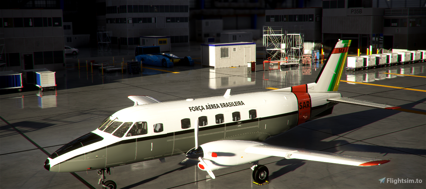 EMB-110P1 Força Aérea Brasileira - FAB/SAR 8K Flight Simulator 2020