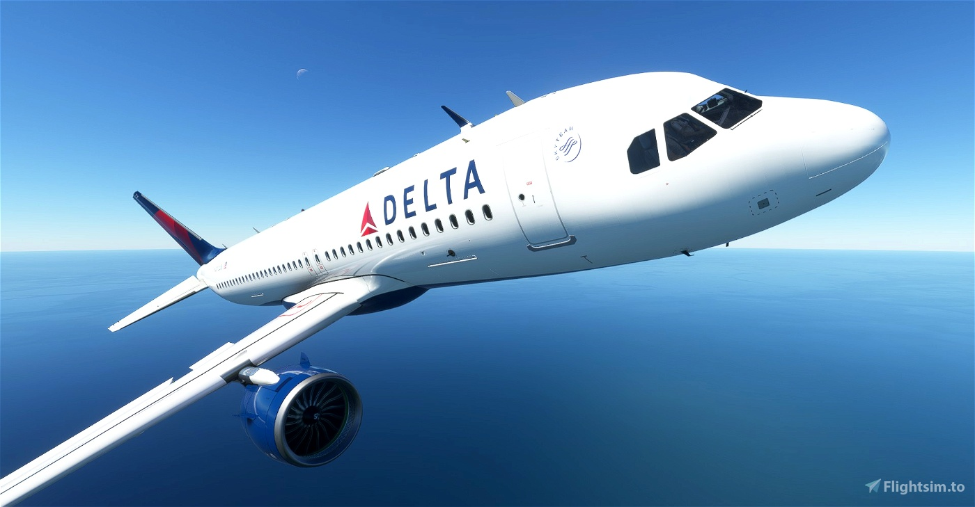 [A32NX] 8K Delta Air Lines Flight Simulator 2020