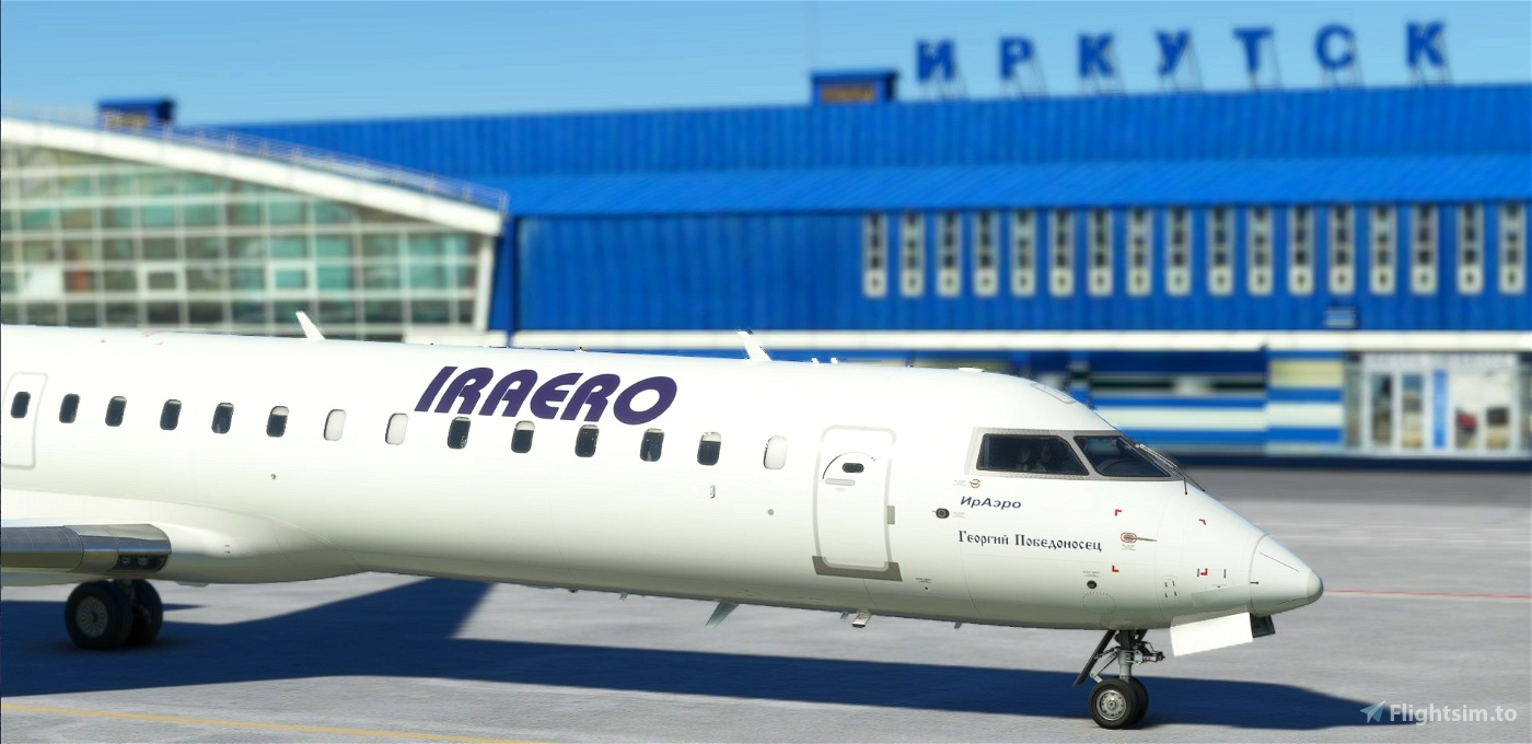 CRJ 550 Iraero Flight Simulator 2020