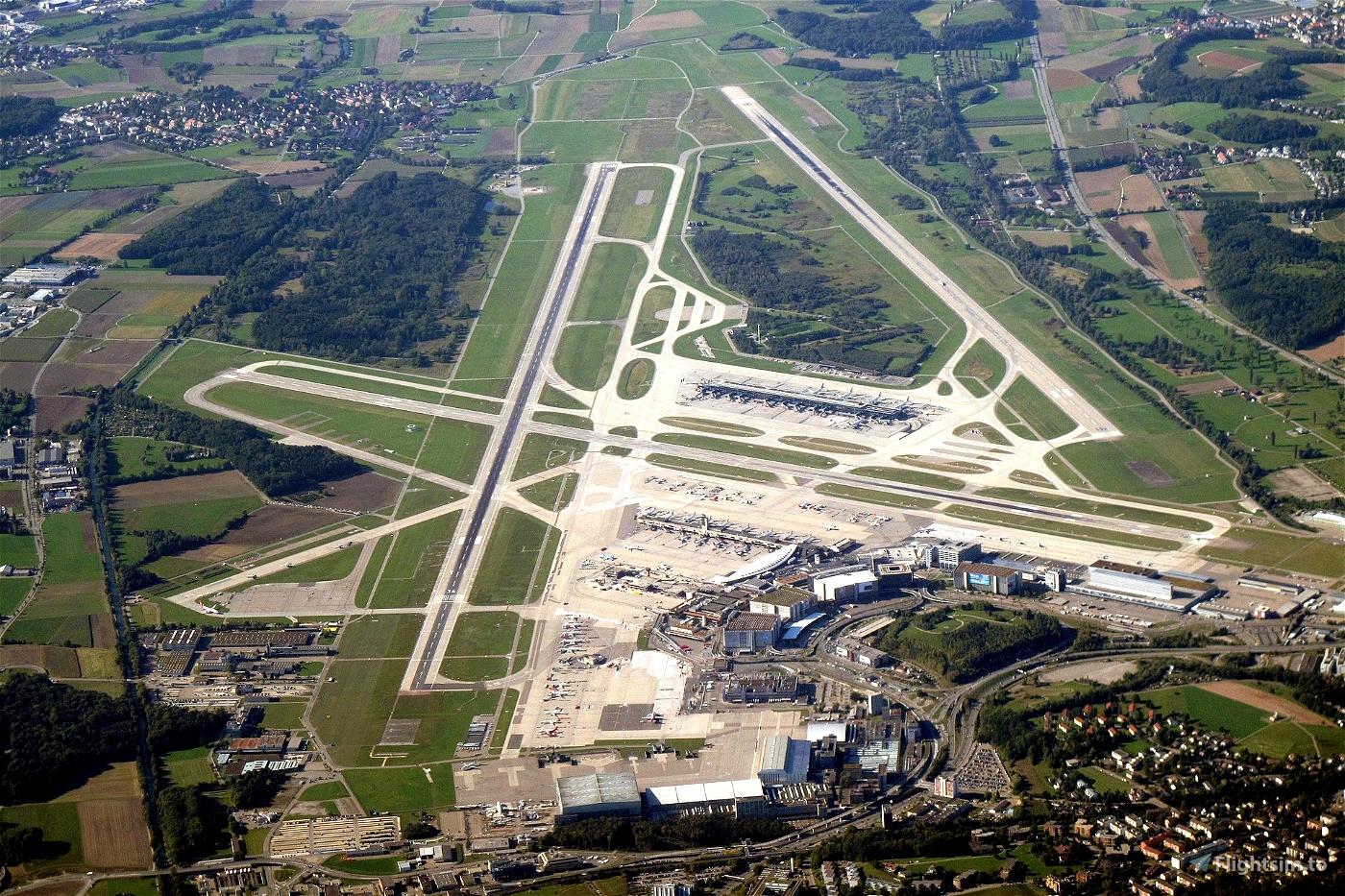 Zurich (LSZH) real Swiss Airlines passenger routes Flight Simulator 2020