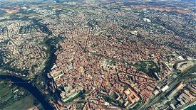 Béziers: Arènes, cathédrale and other landmarks Image Flight Simulator 2020