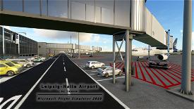 [EDDP] Leipzig-Halle Airport Image Flight Simulator 2020