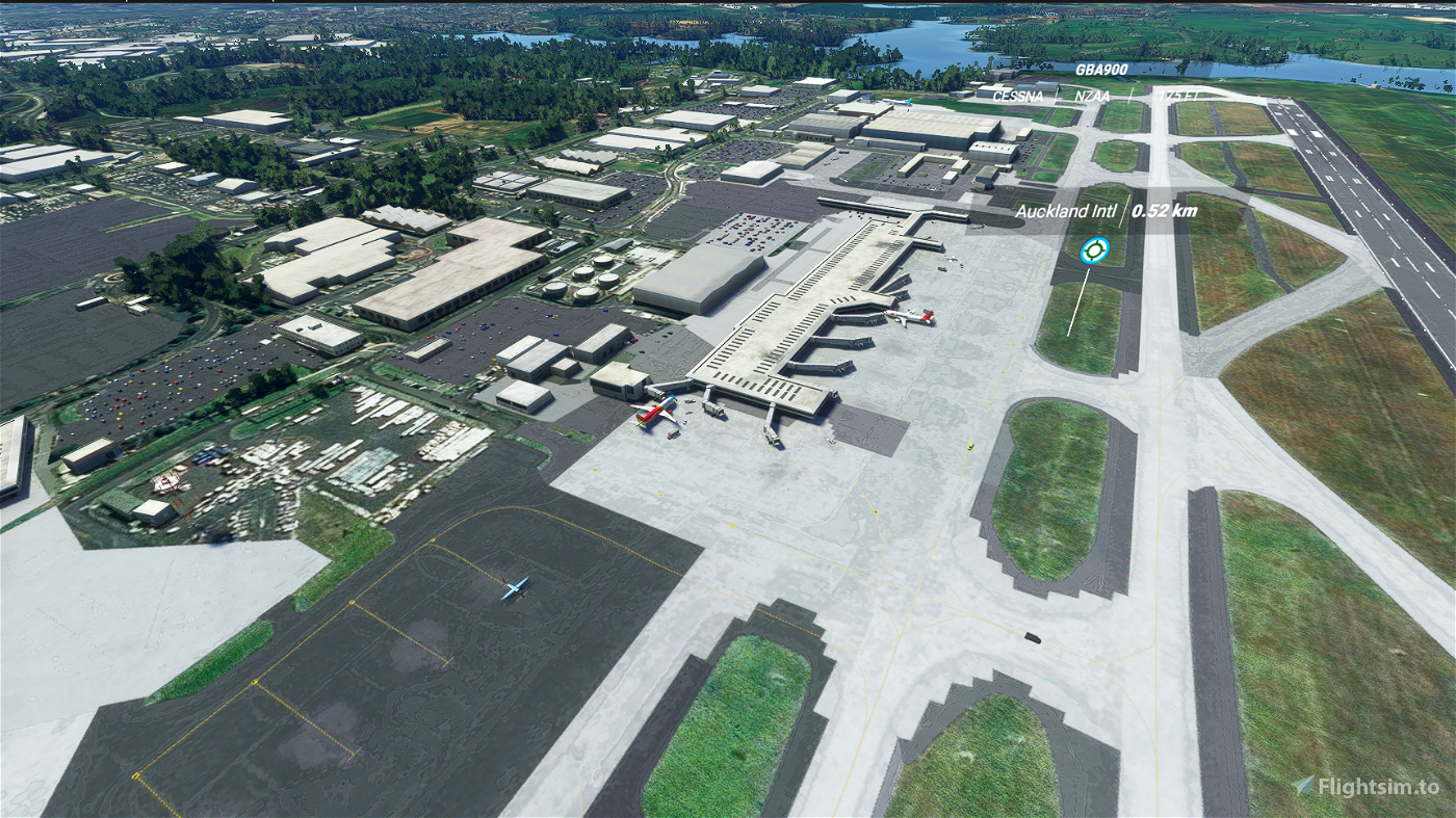 Auckland International Airport Flight Simulator 2020