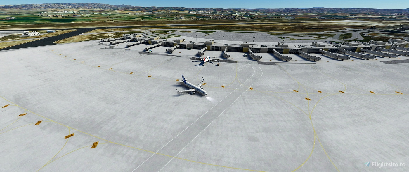 LTAC Ankara Esenboga Intl. Airport Flight Simulator 2020