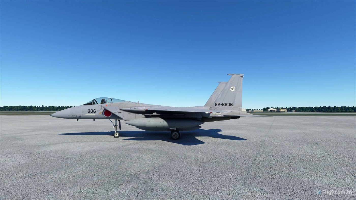 DC-Designs F-15C JASDF 303SQ Flight Simulator 2020