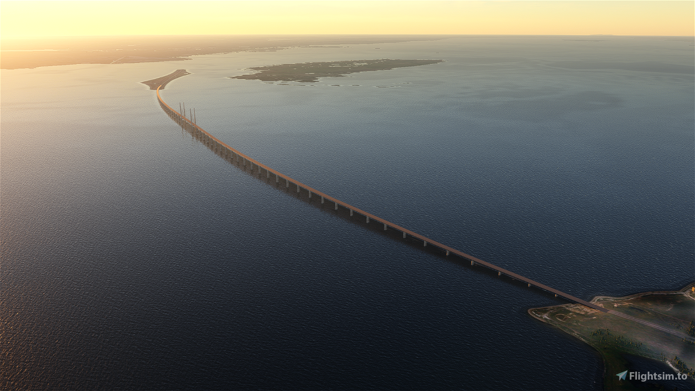 Oresund Bridge / Denmark - Sweden