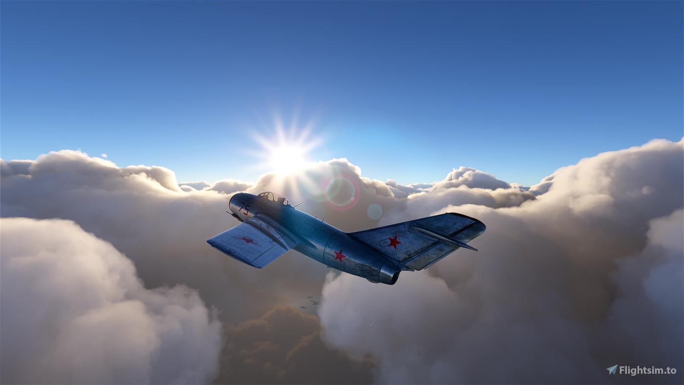 [WIP] MiG 15 Flight Simulator 2020