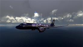 [A32NX] Solaris Airlines A320 Neo Livery Image Flight Simulator 2020