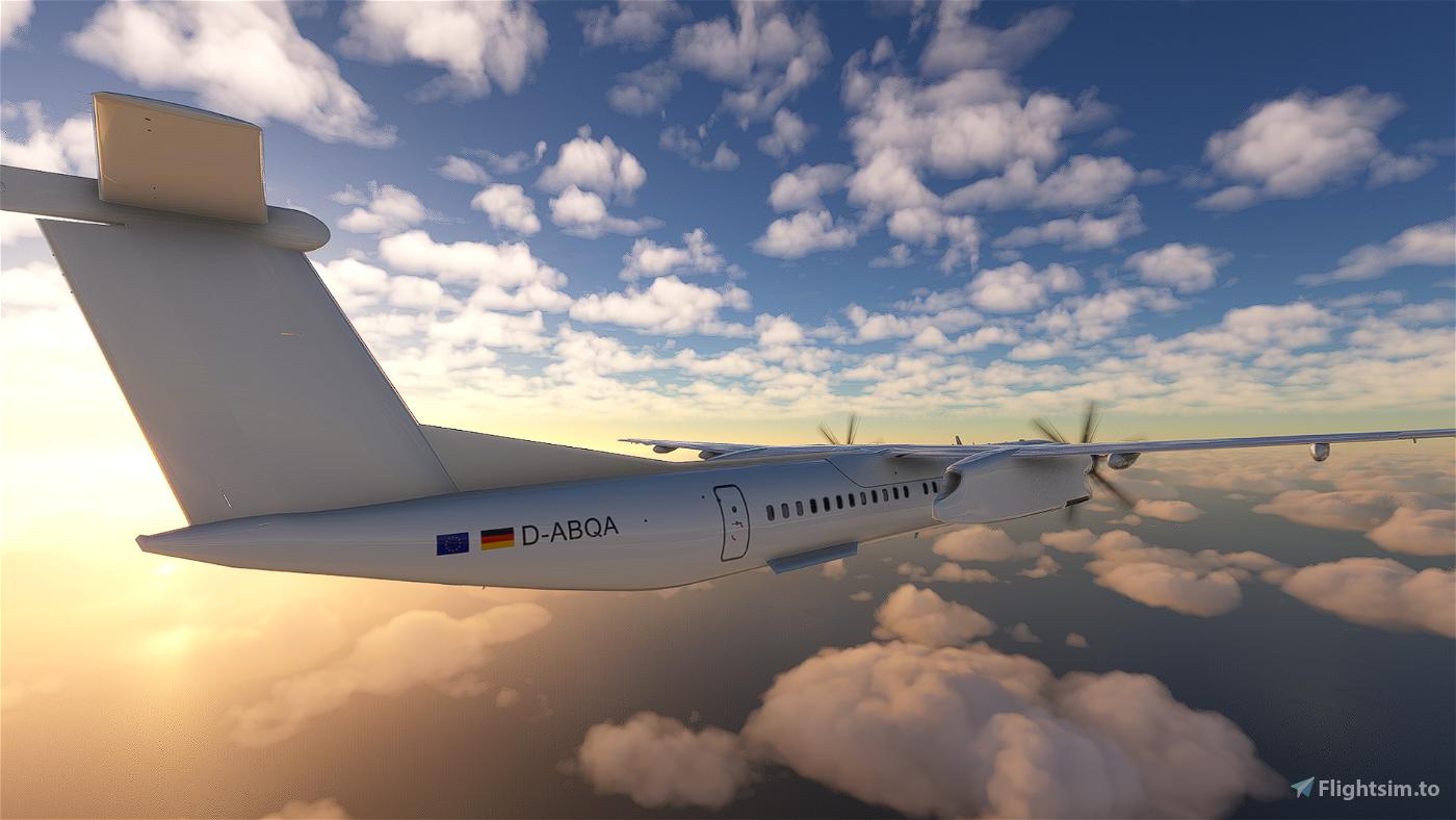 Eurowings Dash 8 Q400   4K
