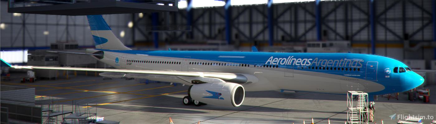 Aerolineas Argentinas LV-GIF PMP A330-300