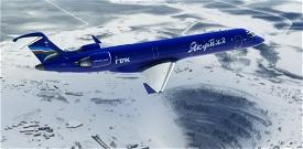 CRJ 550 Yakutia Image Flight Simulator 2020