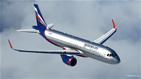 Aeroflot A320Neo [8K] - FBW A32NX Image Flight Simulator 2020