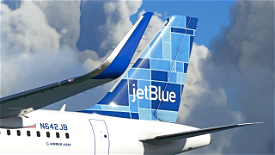 JetBlue - Mosaic [8K] - FBW A32NX Image Flight Simulator 2020