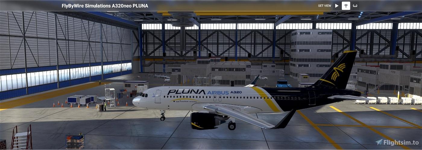 [A32NX] flybywire PLUNA Primera Líneas Uruguayas de Navegación Aérea Flight Simulator 2020