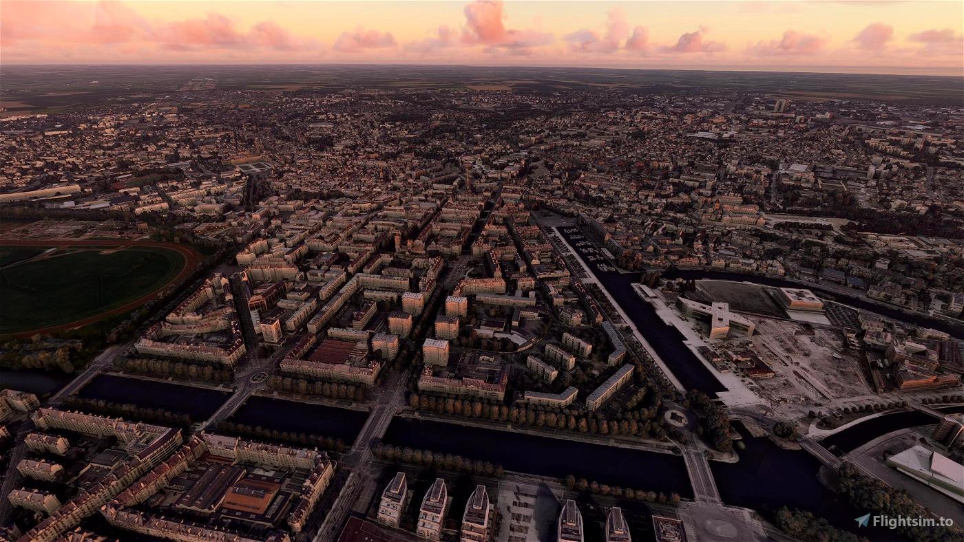 Caen City