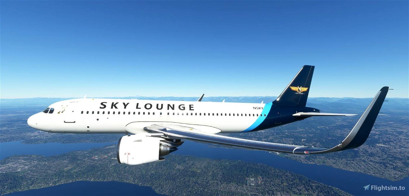 FBW_A32NX - The Sky Lounge Flight Simulator 2020
