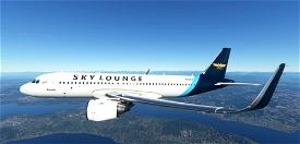 FBW_A32NX - The Sky Lounge Image Flight Simulator 2020