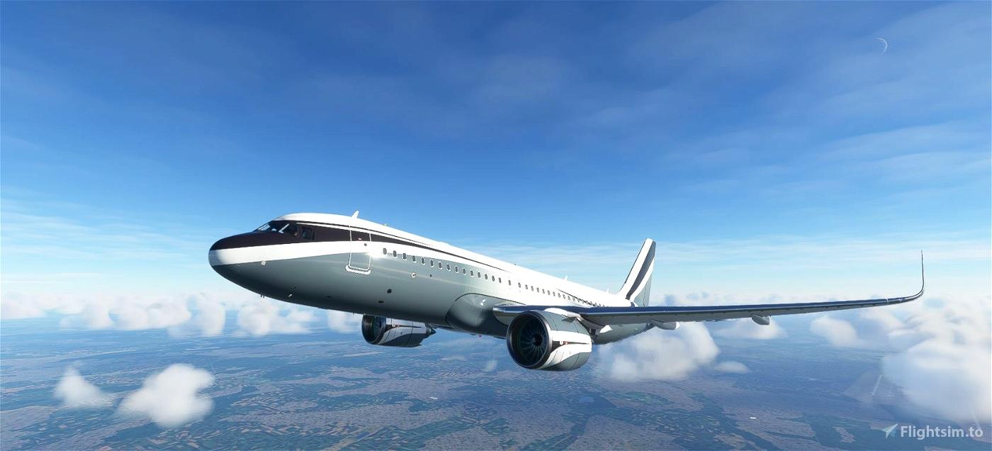 FBW A32NX  Sophar Airbus ACJ320neo (M-KATE)